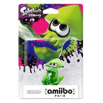 任天堂 Nintendo amiibo公仔 烏賊公仔(漆彈大作戰系列)
