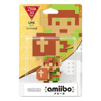 任天堂 Nintendo amiibo公仔 初代林克-點陣版(薩爾達傳說公仔系列)