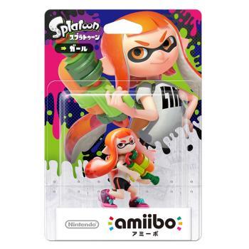 任天堂 Nintendo amiibo公仔 女孩公仔(漆彈大作戰系列)