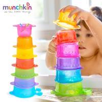 munchkin滿趣健-毛毛蟲疊疊樂洗澡玩具