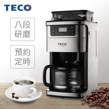 福利品TECO東元 自動研磨美式咖啡機 YF1002CB