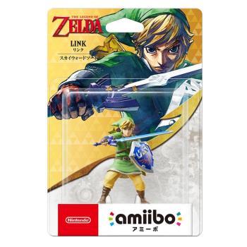 任天堂 Nintendo amiibo公仔 林克(薩爾達傳說:天空之劍)