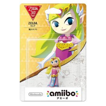 任天堂 Nintendo amiibo公仔 薩爾達公主(薩爾達傳說:風之律動系列)