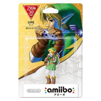 任天堂 Nintendo amiibo公仔 林克(薩爾達傳說:時之笛系列)