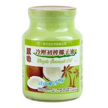 苦行 冷壓初榨椰子油(500ml/瓶)