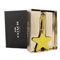 COACH 專櫃款閃亮星星吊飾(金)(禮盒組)