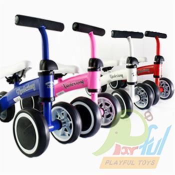 【Playful Toys 頑玩具】騎乘類兒童平衡滑步車 平衡車 幼兒平衡滑步車 學步車 滑步車 平衡車 繽紛小巧滑步車