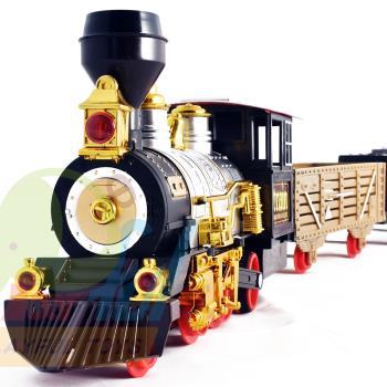 【Playful Toys 頑玩具】噗噗蒸氣軌道火車 精緻模型車 小火車 蒸汽火車
