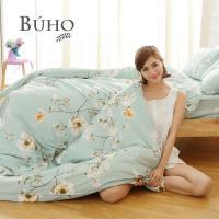 BUHO (浪韻花漾) 天然嚴選純棉雙人加大三件式床包組