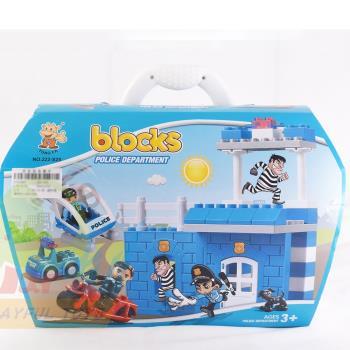 【Playful Toys 頑玩具】逃獄大追蹤積木組(積木 主題積木 BLOCKS 益智積木)