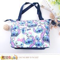 魔法Baby 手提袋 迪士尼史迪奇正版保溫保冷提袋~f0291