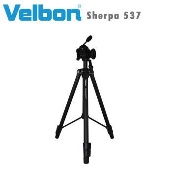 Velbon Sherpa 537 攝影家腳架組(含FHD-53D雲台)