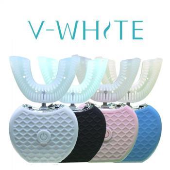 美國V-WHITE免持變頻電動牙刷