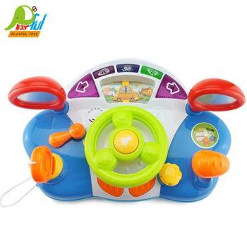 【Playful Toys 頑玩具】嬰兒方向盤(兒童方向盤 趣味學習機 多功能學習機 方向盤學習車 兒童玩具)