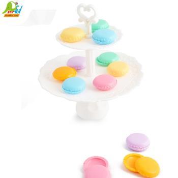 【Playful Toys 頑玩具】糖果疊疊樂 馬卡龍平衡遊戲(糖果 馬卡龍 疊疊樂 平衡遊戲 歐式點心架)