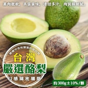 果物樂園-台灣嚴選酪梨(3斤±10%)