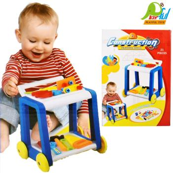 【Playful Toys 頑玩具】工具台(兒童仿真工具桌 維修工具台 兒童遊戲工作桌 兒童玩具 扮演玩具 拆裝工作桌)
