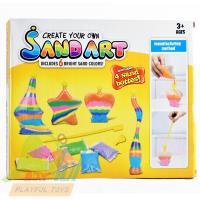 【Playful Toys 頑玩具】DIY彩沙(DIY彩虹瓶 星空瓶 創意彩沙玻璃瓶 軟木塞玻璃瓶)