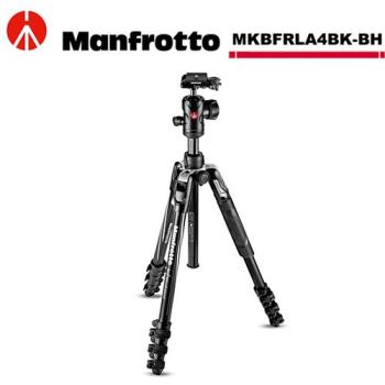 Manfrotto MKBFRLA4BK-BH Befree ADV 腳架雲台套組(扳扣).