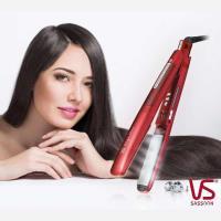 VS沙宣  38mm晶漾魔力紅鈦金蒸氣負離子直髮夾VSS-9500W