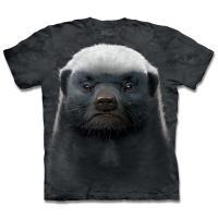 摩達客-美國進口The Mountain 蜜獾 純棉環保短袖T恤