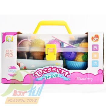【Playful Toys 頑玩具】冰淇淋疊疊樂(兒童玩具 益智遊戲 親子遊戲 套杯趣味平衡遊戲 家家酒 層層疊)