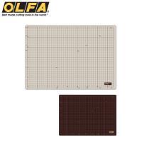 日本OLFA雙面切割墊CM-A3裁切墊即135B桌墊(灰褐+咖啡色)工藝墊板美工墊子