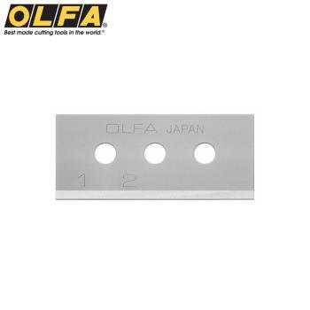 日本OLFA開箱刀刀片SKB-10/10B拆箱刀替刃