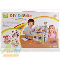 【Playful Toys 頑玩具】別墅著色畫(創意啟蒙 畫畫玩具 著色 立體著色 兒童玩具 彩繪)