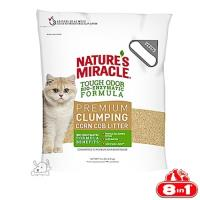 ~8in1~美國 自然奇蹟~酵素環保玉米貓砂 10LB x 1包