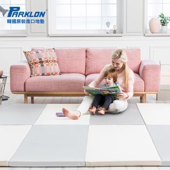 【BabyTiger虎兒寶】PARKLON 韓國帕龍 PURE SPACE FOLDER - 灰色馬卡龍 摺疊遊戲地墊