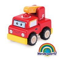 泰國 Wonder World 歡樂拼裝系列-消防車