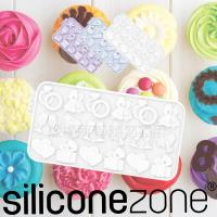 Siliconezone施理康耐熱矽膠杯子鈴鐺巧克力片模