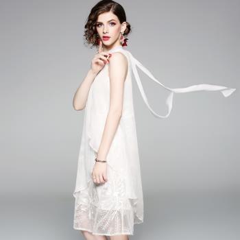 伊凡莎名媛時尚-歐潮清新雅品氣質洋裝