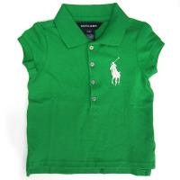 Polo by Ralph Lauren大馬Logo蘋果綠網眼小孩短袖Polo衫(#2歲)