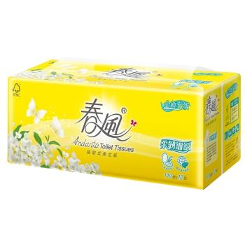 春風柔韌感抽取衛生紙(110抽x72包/箱)