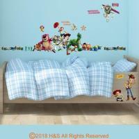 迪士尼玩具總動員創意壁貼(35x50cm雙拼)1入
