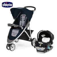 chicco-Viaro運動版三輪推車+KeyFit 手提汽座