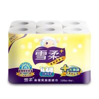 雪柔廚房家用紙巾(120組x6捲x8串)