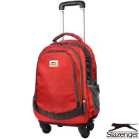 Slazenger 史萊辛格 可拆式拉桿後背包(紅)