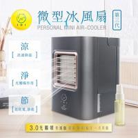 IDI 行動奈米光觸媒+LED燈水冷氣扇AC-01X (第三代)