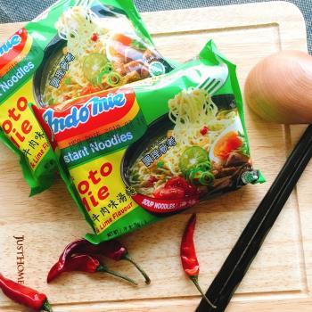 東南亞熱銷泡麵-媽媽青檸牛肉麵5包組