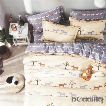 BEDDING-100%棉3.5尺單人薄式床包二件組-心靈驛站