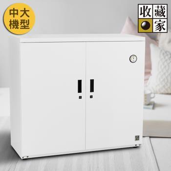 收藏家居家收納全自動電子防潮鞋櫃 ( 明亮白 ) AHD-400MW