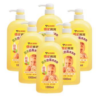 【優生】寶寶蔬果奶瓶清潔劑1000mlX6罐/箱(效期2020年6月)