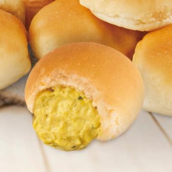 巴特里烘焙坊 蒜味拉絲爆漿餐包(10顆/袋)