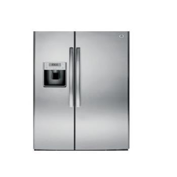 GE 美國 奇異 GSE25HSSS 733L 對開門冰箱 不銹鋼灰色