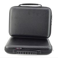 PUSH!3C相關用品3C隨身用品包移動電源硬碟保護套手機耳機包收納包(黑色大號一入)U46