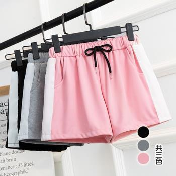 韓國KW 韓式個性復古運動短褲