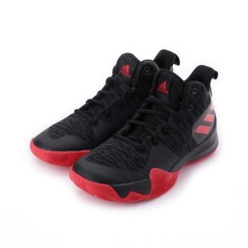 ADIDAS EXPLOSIVE FLASH K 綁帶籃球鞋 黑 AQ0525 童鞋 鞋全家福